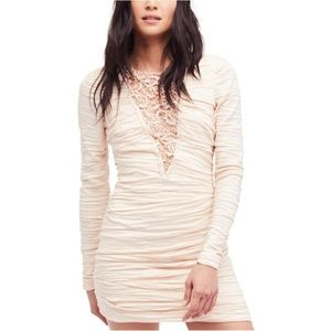 Free People Look of Love Bodycon Dress
